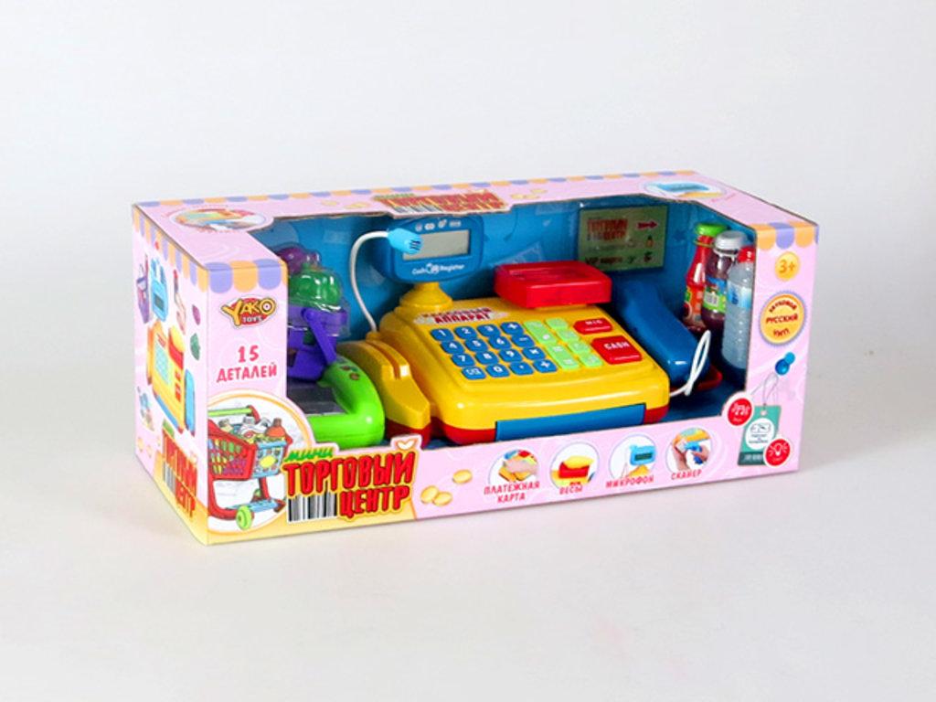 """Игрушки для девочек: Набор """"Супермаркет"""" на бат. с набор продуктов, звук. свет. эффекты в Игрушки Сити"""