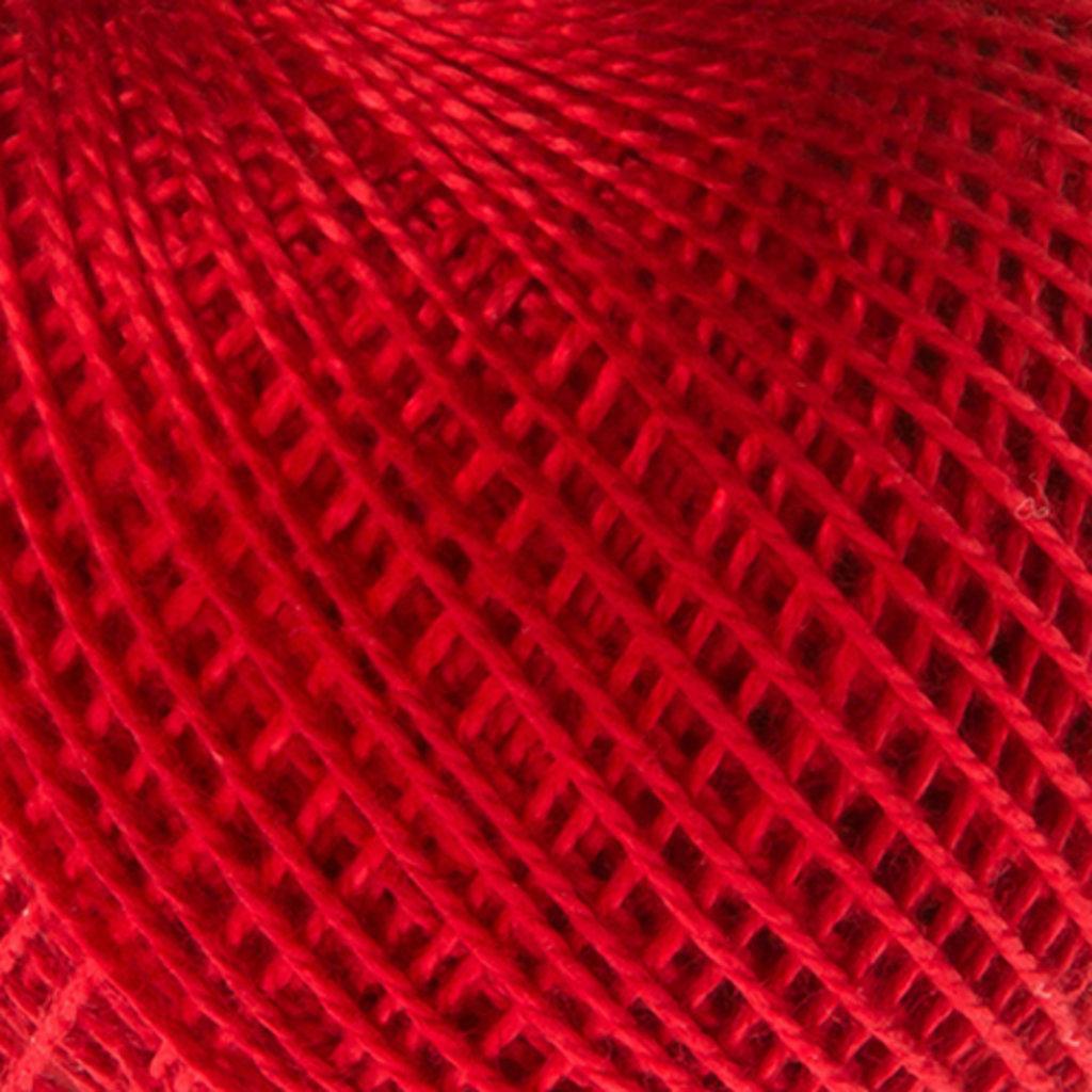 Ирис 25гр.: Нитки Ирис 25гр.150м.(100% хлопок)цвет 0906 ярко красный в Редиант-НК