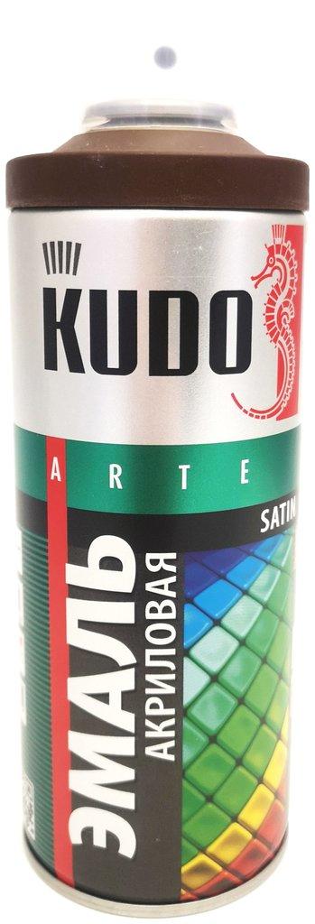 Универсальные: Краска-спрей акриловая KUDO коричнево-шоколадная RAL 8017 в Шедевр, художественный салон