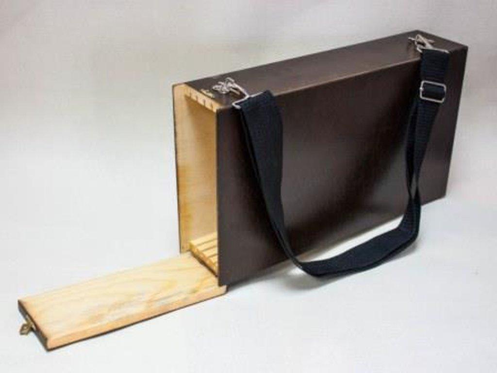 Этюдники, ящики для пленера: Ящик для пленера 38*22,5см тонированный в Шедевр, художественный салон