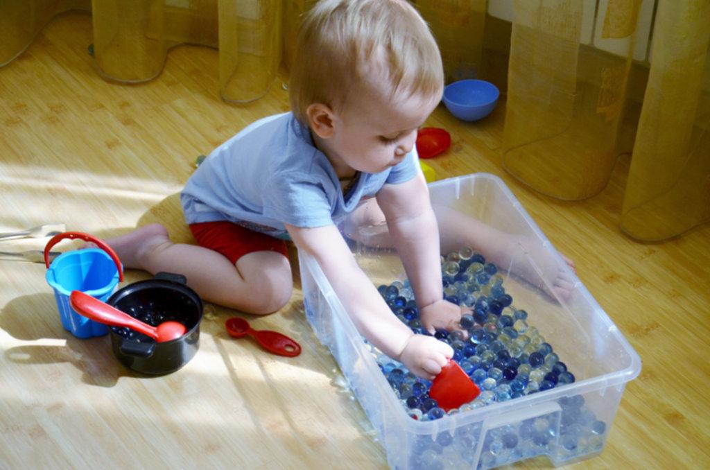 Центры раннего развития: Сенсорные игры в Детский центр Фея