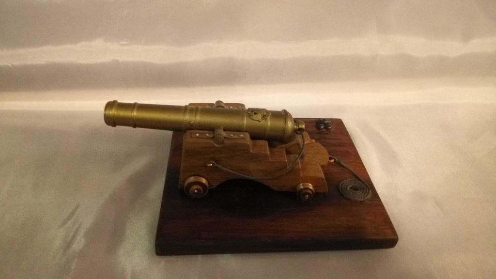 Модели кораблей: Корабельное орудие XIX века в Модели кораблей