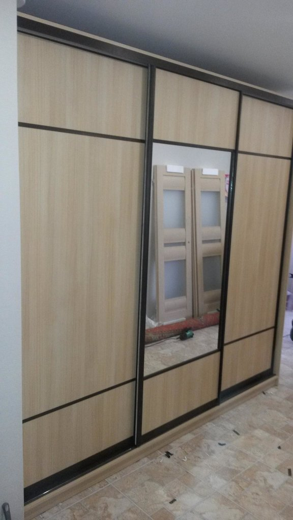 Шкафы-купе: Шкаф-купе 10 в Квадра Мебель