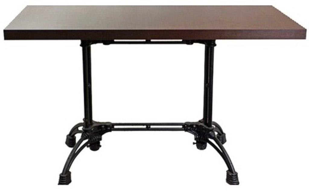 Столы для ресторана, бара, кафе, столовых: Стол прямоугольник 1200х800, подстолья 1235 ЕМ чугун в АРТ-МЕБЕЛЬ НН
