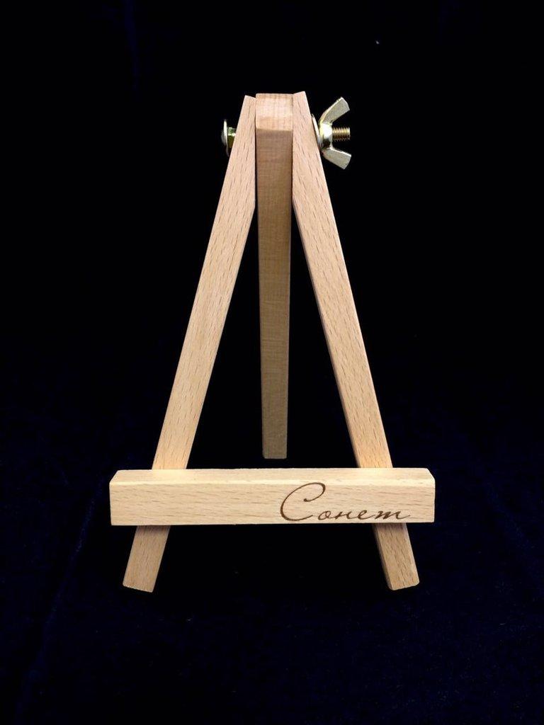 Мольберты: Сонет Мольберт Лира, настольный, бук, 11х8.5х17 см в Шедевр, художественный салон