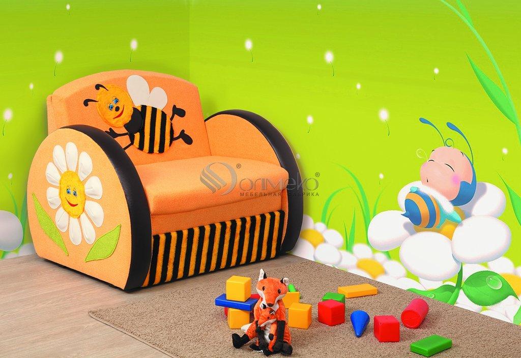 Детские диваны и мягкие кресла: Тахта Мася - 8 (пчелка) в Стильная мебель