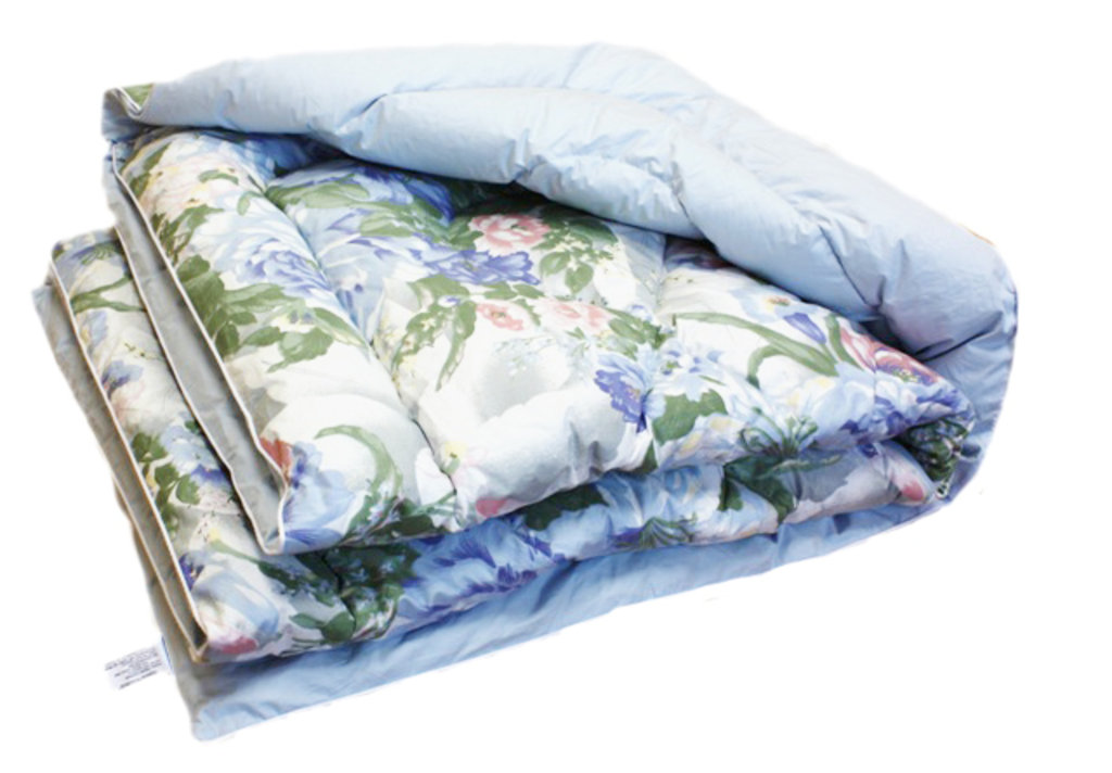 Одеяла 1,5-спальные 155*205: Одеяло 1,5-спальное 155*205 (80% пух) в Дрёма