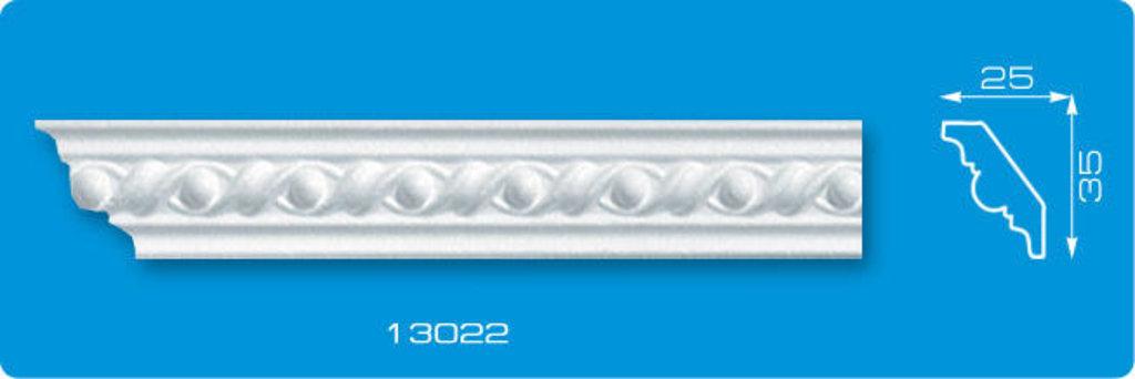 Плинтуса потолочные: Плинтус потолочный ФОРМАТ 13022 инжекционный длина 1,3м, узкий в Мир Потолков