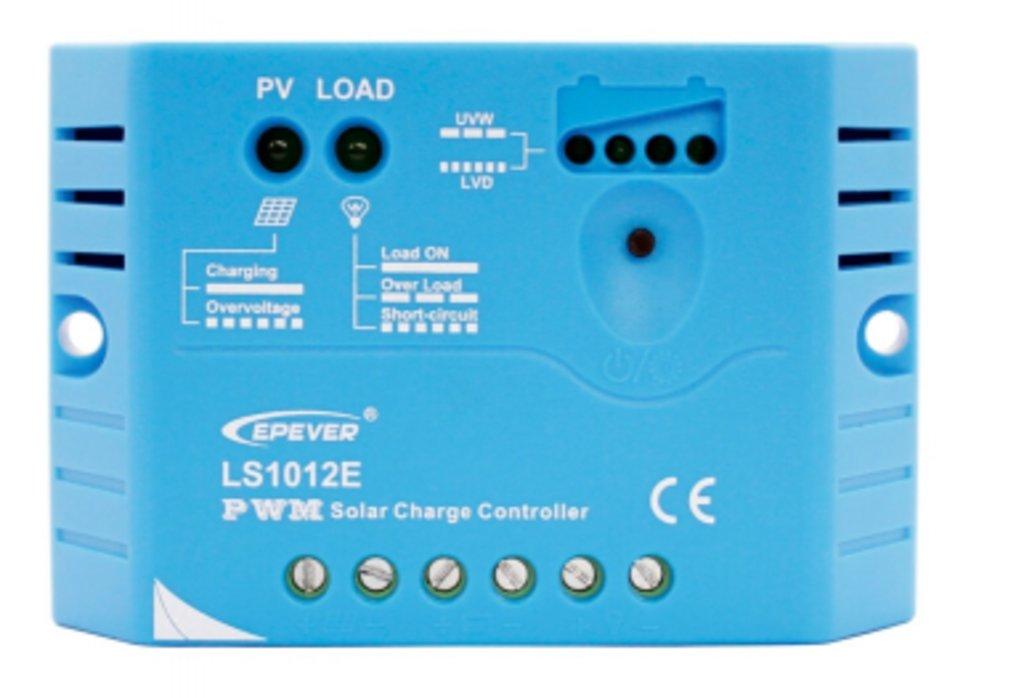 ШИМ контроллеры: Контроллер заряда EPSolar LS1012E в Горизонт