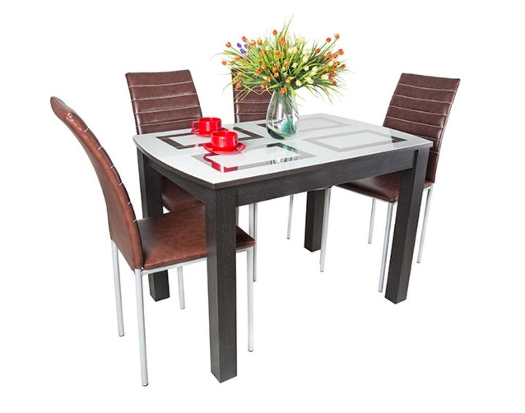 Обеденные группы.: Комплект Рив №2 + стулья. в АРТ-МЕБЕЛЬ НН