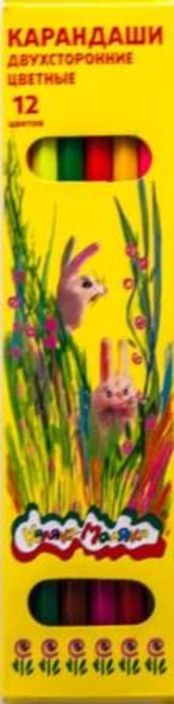 """Карандаши: Карандаши двухсторонние цветные """"Каляка-Маляка"""" 12цв. в Шедевр, художественный салон"""