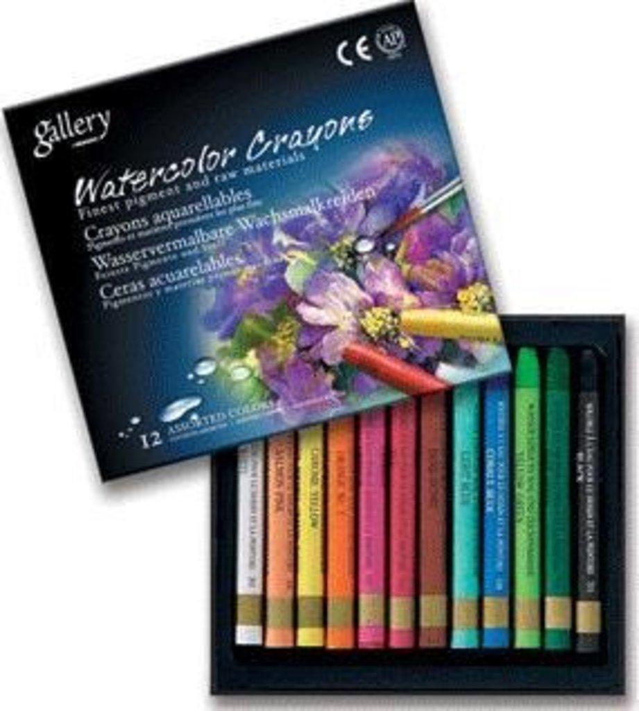 Акварельные карандаши: Акварельные профессиональные пастельные мелки Gallery Mungyo Корея 12 цветов в Шедевр, художественный салон