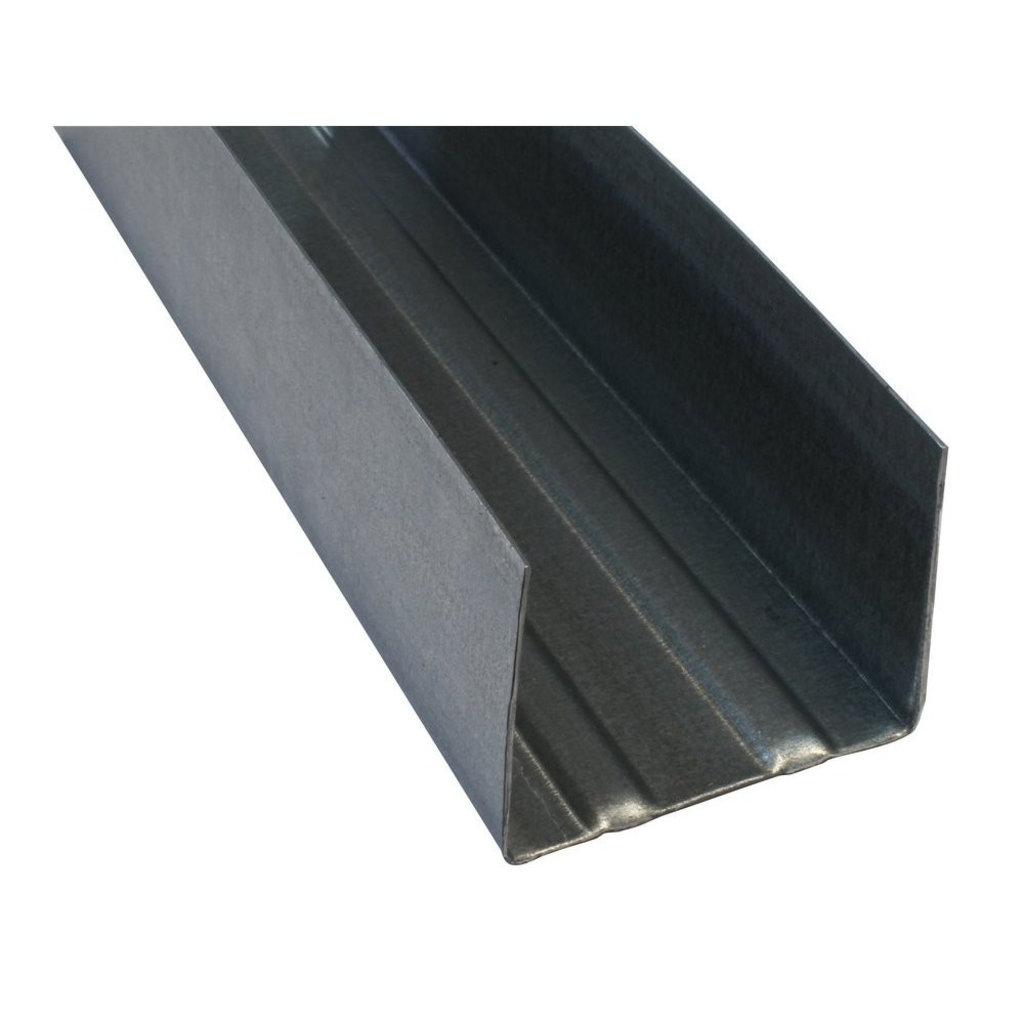 Профиль для ГКЛ: Профиль ПН-50/40/3000-0,5 Стандарт в АНЧАР,  строительные материалы