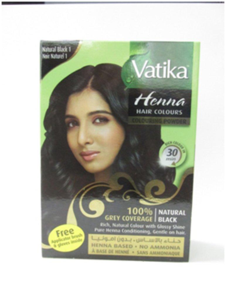 Хна для волос: Dabur Vatika Хна для волос №1 Чёрная в Шамбала, индийская лавка
