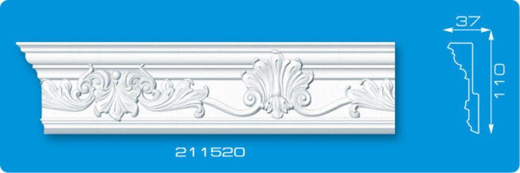 Плинтуса потолочные: Плинтус потолочный ФОРМАТ 211520 инжекционный длина 2м в Мир Потолков