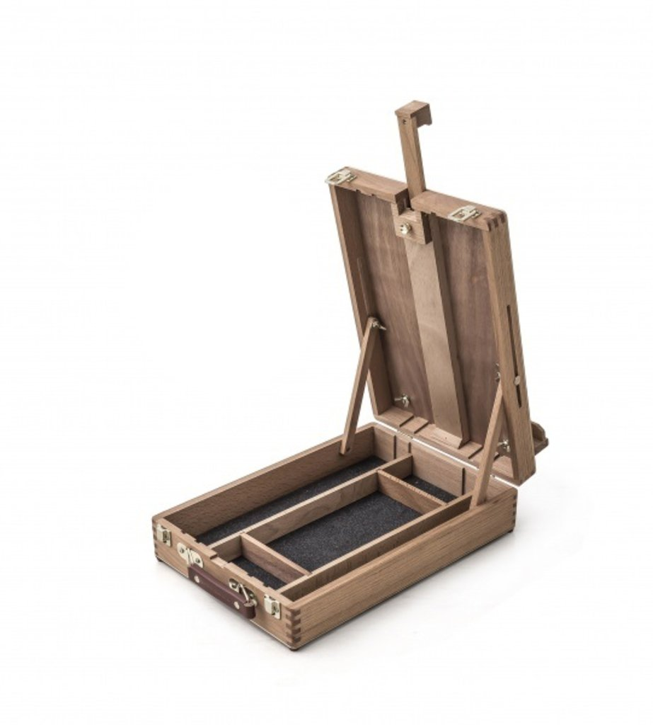 Мольберты: Настольный мольберт с ящиком Малевичъ  МЛ-34 в Шедевр, художественный салон