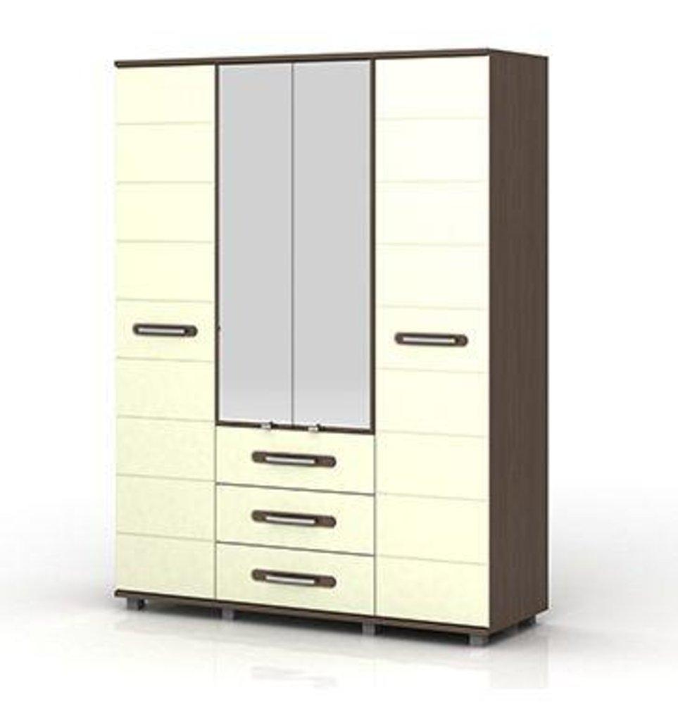 Шкафы для спальни: Шкаф 4-х створчатый Инфинити (1800) в Стильная мебель