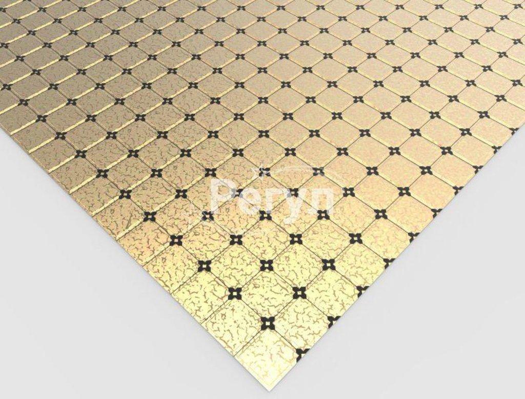 Панели ПВХ: Мозаика Золотой ажур в Мир Потолков
