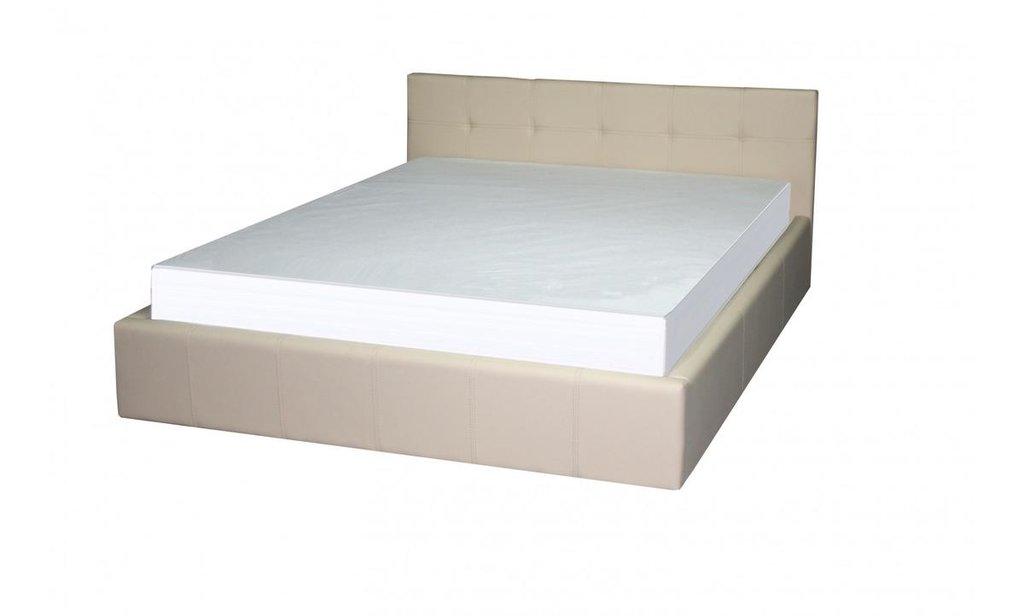 Кровати: Кровать двойная из экокожи Герта в Уютный дом