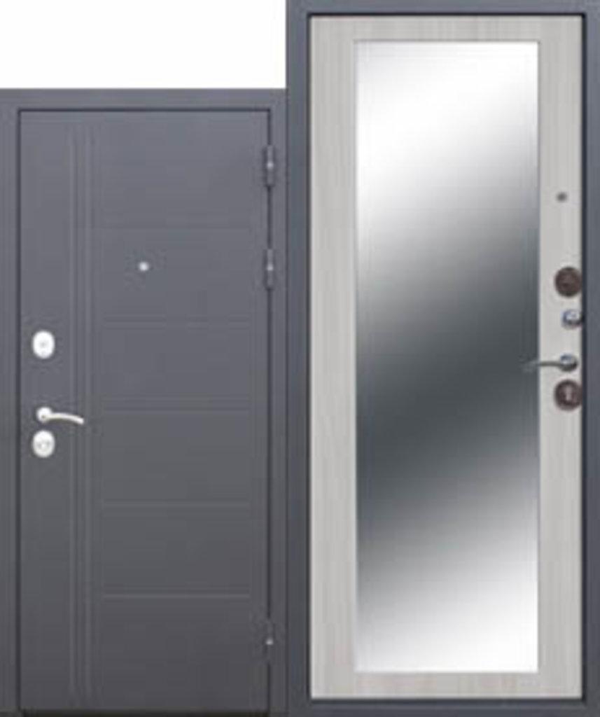 Двери завода Феррони: 10 см Троя Серебро зеркало дуб сонома в Модуль Плюс