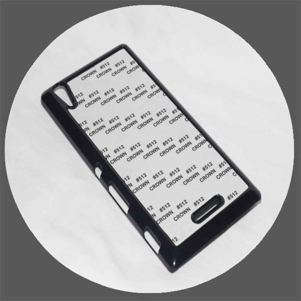 Sony: Чехол для Sony Т3 Черный пластиковый в NeoPlastic