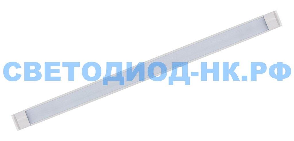 Линейные светильники: Светодиодный светильник SLL5054 32W 2340Lm 6500K, в стальном корпусе, 1190*60*22мм в СВЕТОВОД