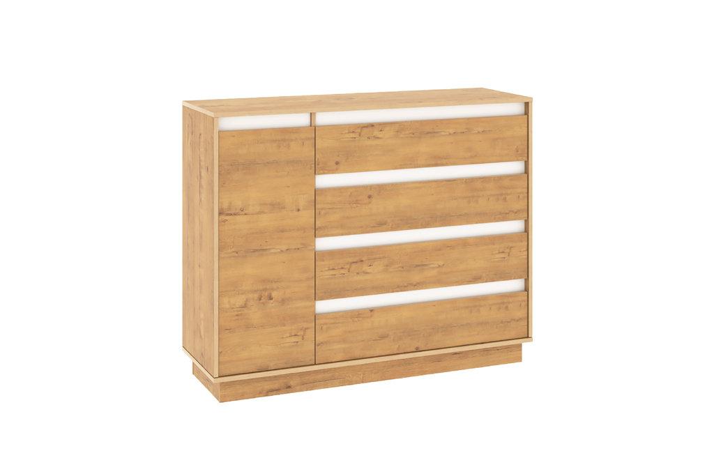 Комоды для дома: Комод VIRGINIA НМ 011.01  Дуб Бунратти в Стильная мебель