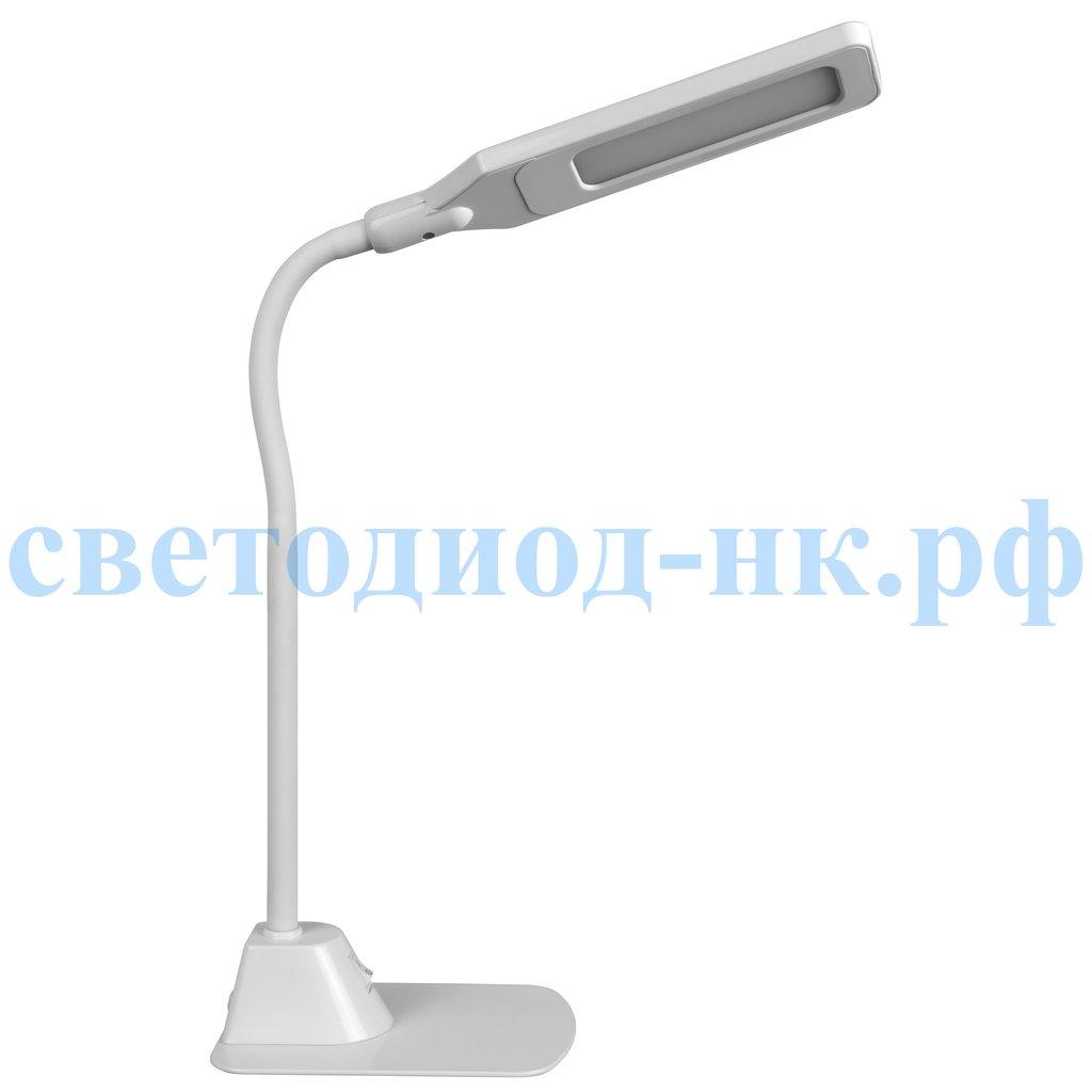 Настольные лампы, ночники: Лампа настольная Navigator NDF-D007-5W-5K-WH-LED в СВЕТОВОД