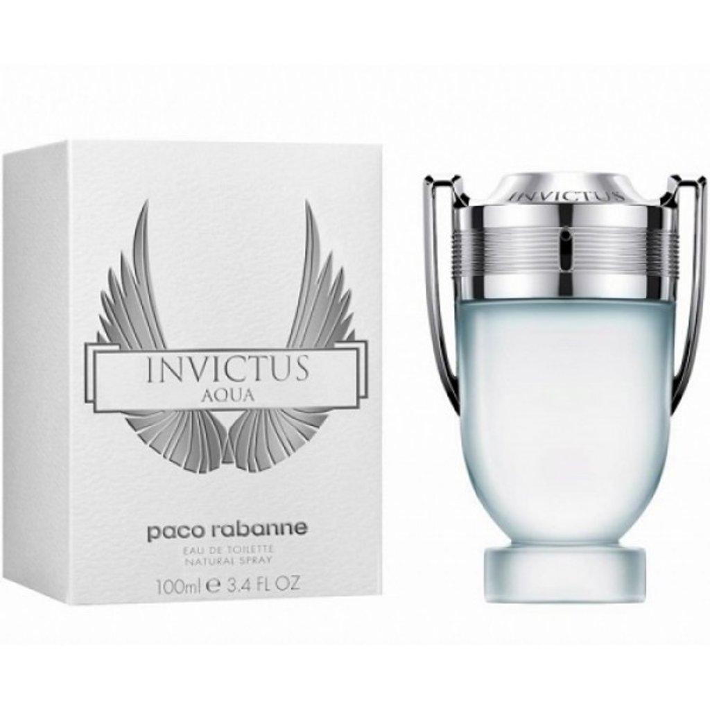 Paco Rabanne (Пако Рабан): Paco Rabanne Invictus Aqua ( Пако Рабан Инвиктус Аква) edt 100ml в Мой флакон