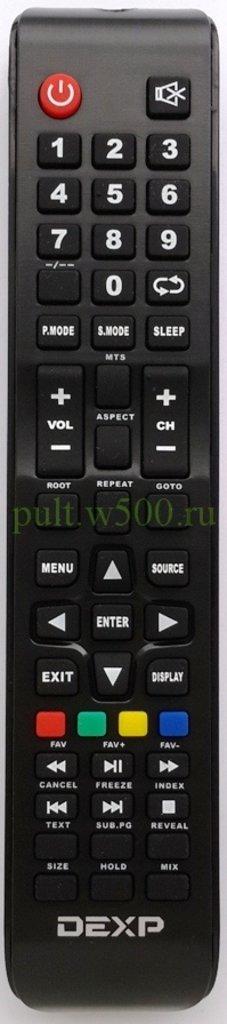 DEXP: Пульт DEXP 16A3000, 19A300 ( RUBIN RB-19SE1 ) (LCD) оригинал в A-Центр Пульты ДУ