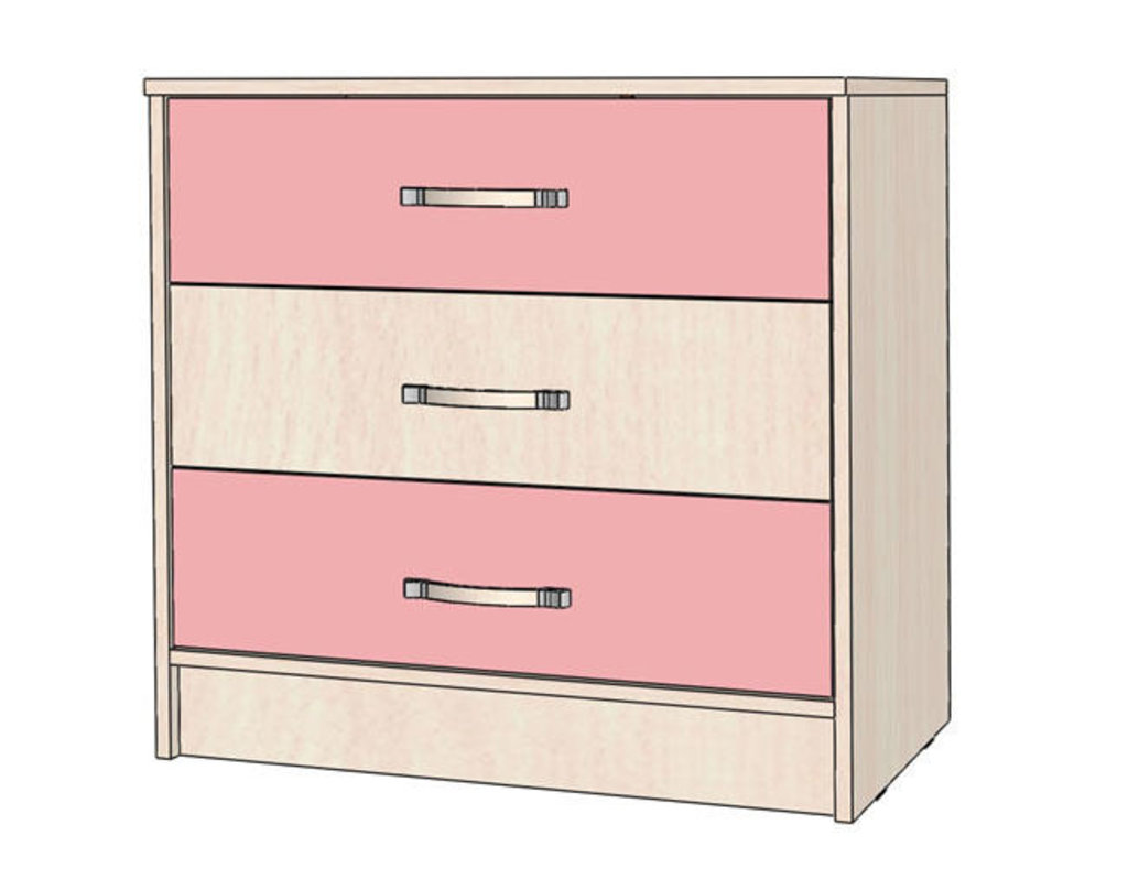 Комоды детские: Комод Буратино в Стильная мебель