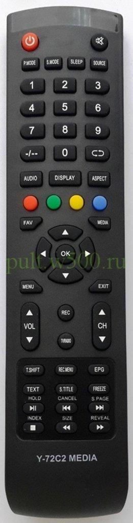 AKAI: Пульт AKAI Y-72C2 MEDIA ( LCD LEA-28L41P, LEA-32L41P ) HUAYU в A-Центр Пульты ДУ