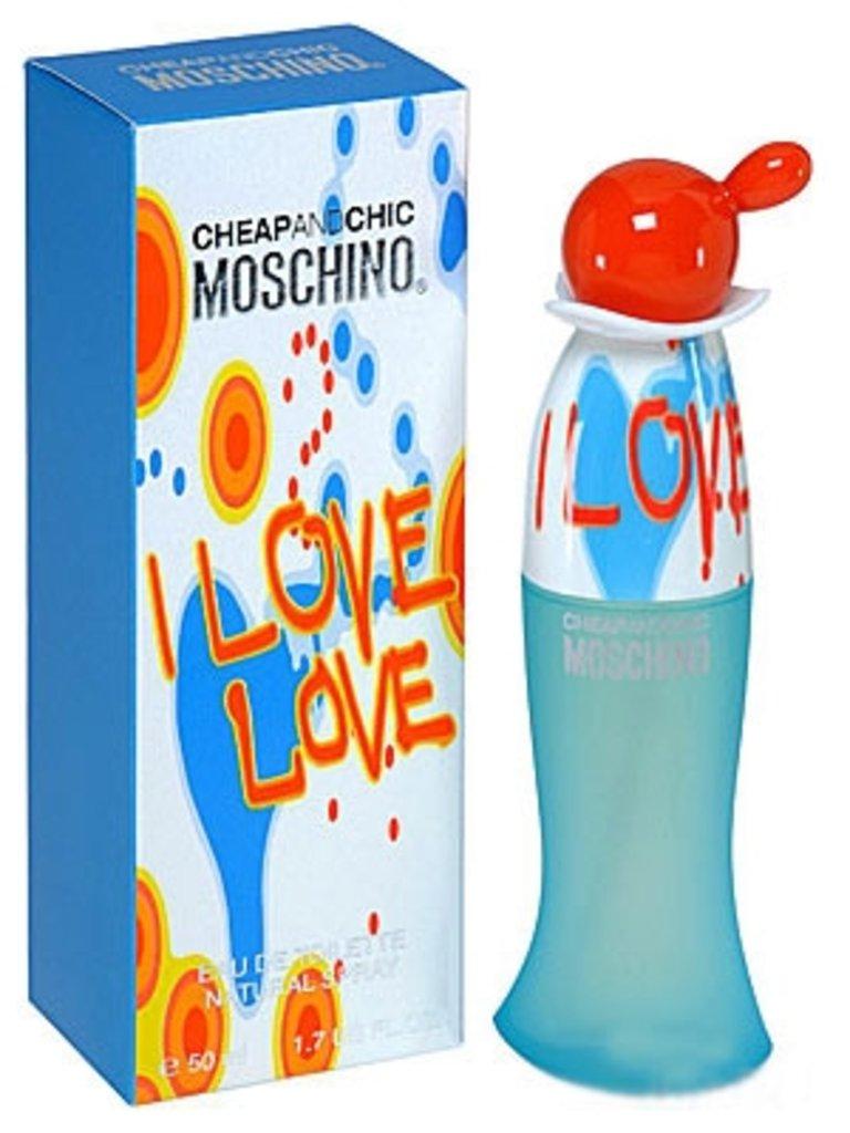 Moschino (Москино): Moschino I Love Love ( Москино Ай Лав Лав) edt 100ml в Мой флакон