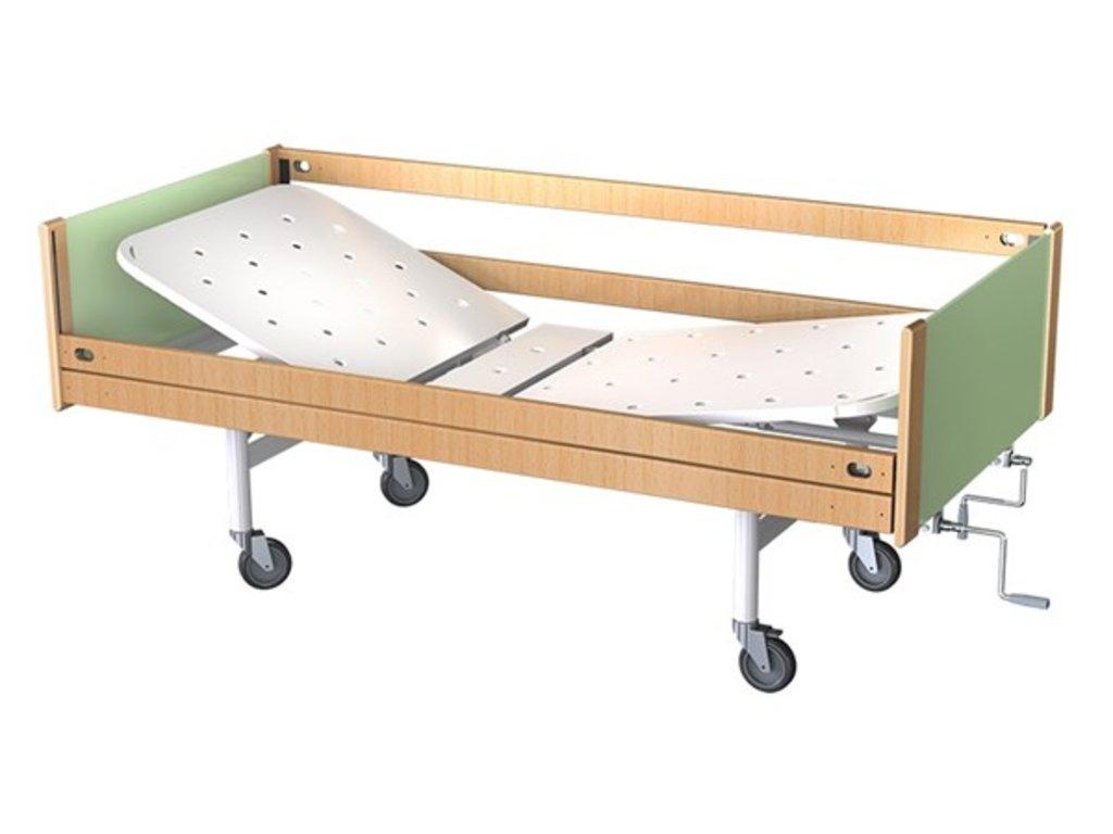 Медицинские кровати: Кровать медицинская для лежачих больных КФ2-01 МСК-6102 в Техномед, ООО