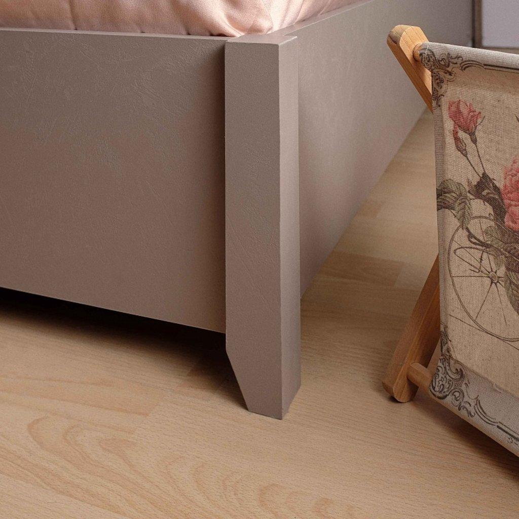 Кровати: Кровать Люкс Brownie 308 (1400, орт. осн. дерево) в Стильная мебель