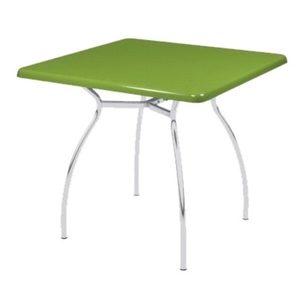 Столы для ресторана, бара, кафе, столовых: Стол квадрат 90х90, подстолья № 7 серая в АРТ-МЕБЕЛЬ НН