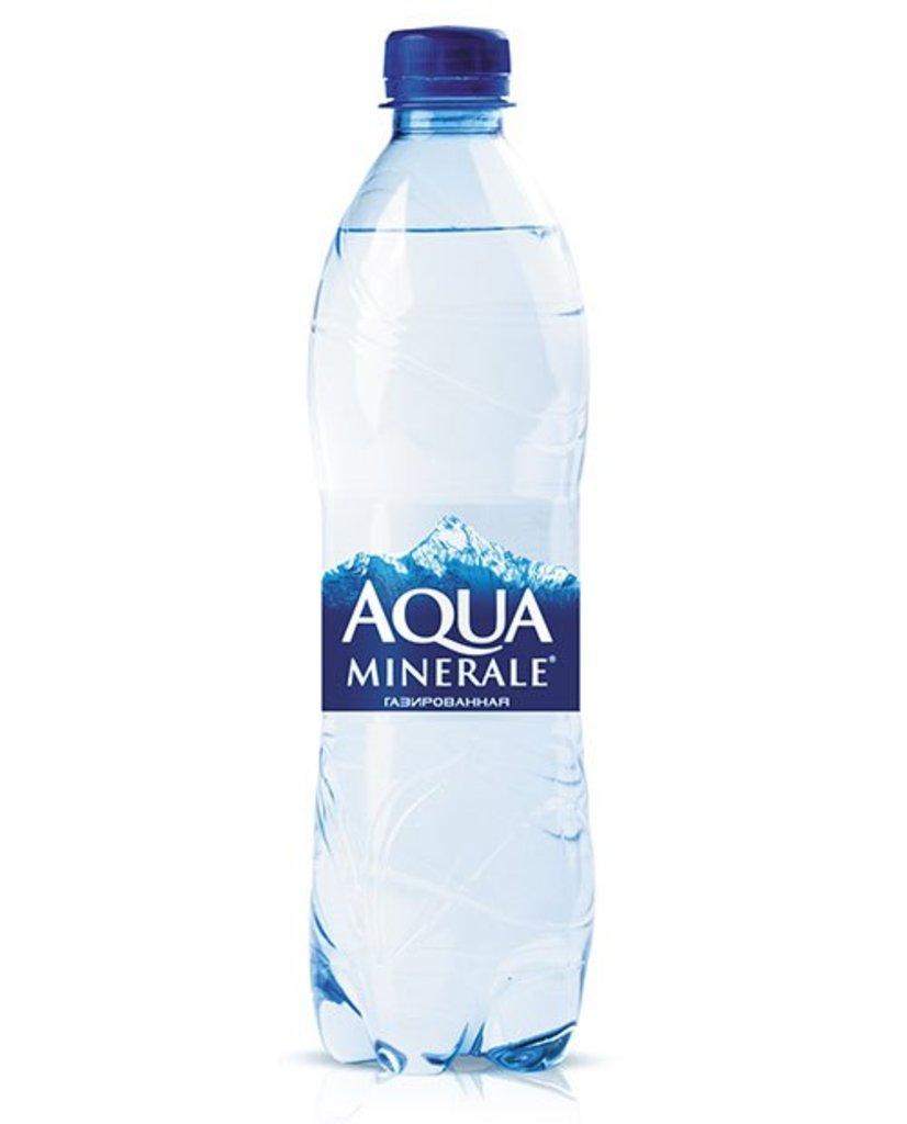 Напитки: Aqua Minerale газированная, 0.6л в Сайори