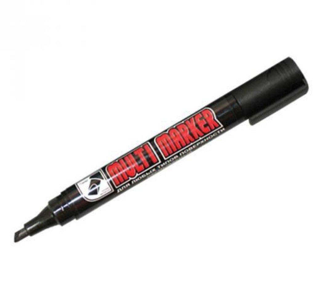 Маркеры, текстовыделители: Маркер перманентный черный косой 5мм Multi marker CROWN СРМ800СН в Шедевр, художественный салон