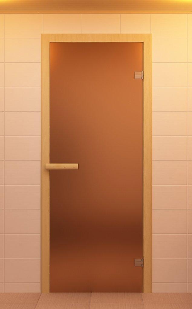 Комплектующие для саун: Дверь Aldo70 х 190  бронза-матированная в Пять звезд, ООО