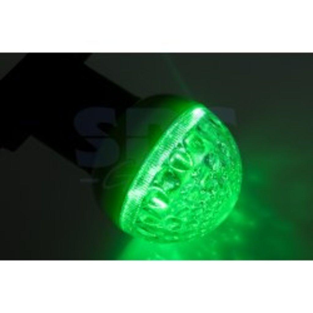 Цветные лампы: Лампа шар DIA 50 9 LED е27 ЗЕЛЕНАЯ NEON-NIGHT в СВЕТОВОД