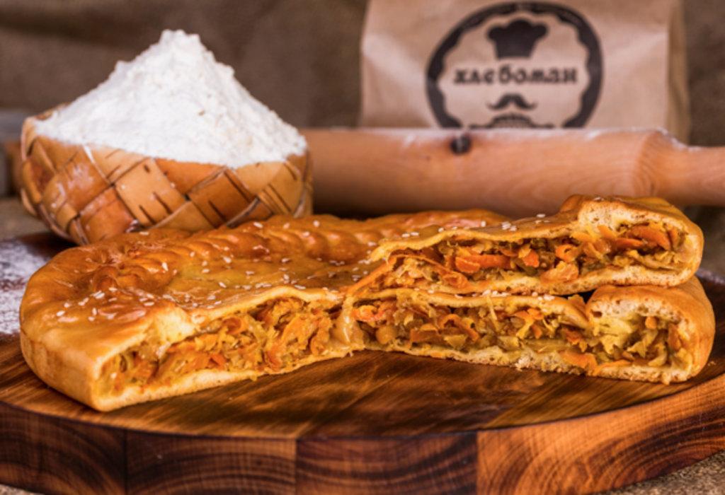 Пироги: Пирог с капустой и грибами в Хлебоман
