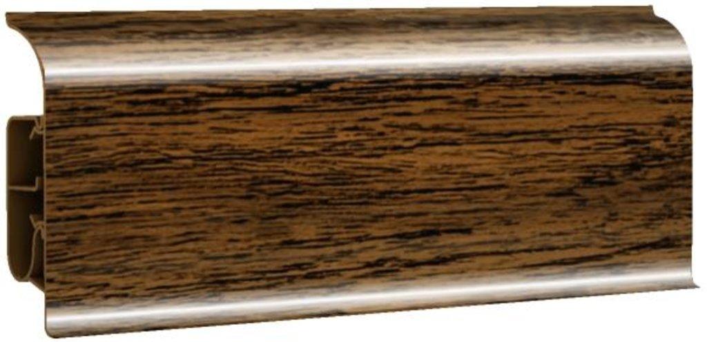 Плинтуса напольные: Плинтус напольный 85 глянцевый 85102 дуб валуа в Мир Потолков
