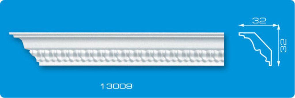 Плинтуса потолочные: Плинтус потолочный ФОРМАТ 13009 инжекционный длина 1,3м, узкий в Мир Потолков