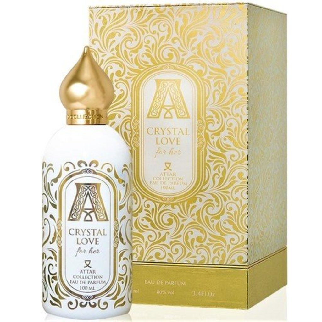 Attar Collection (Аттар Коллекшн ): Attar Collection Crystal Love ( Аттар Коллекшн Кристл Лав) edp 100ml в Мой флакон