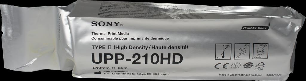 Бумага для ЭКГ: Бумага для УЗИ SONY UPP-210HD 210х25 (Original) в Техномед, ООО