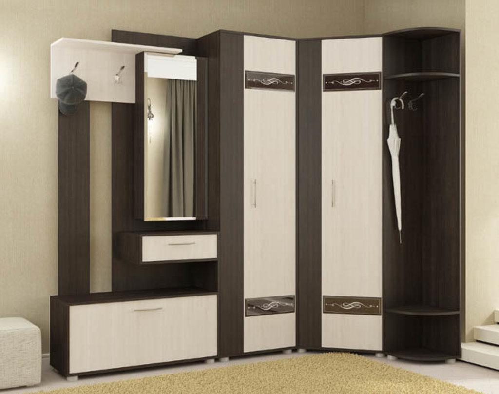 Мебель для прихожей модульная серия Инфинити: Секция с зеркалом Инфинити в Уютный дом