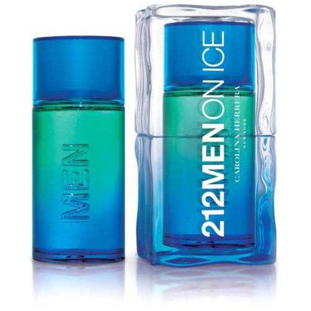 Carolina Herrera: Туалетная вода CH 212 On Ice edt м 100 мл (сине-зеленый) в Элит-парфюм