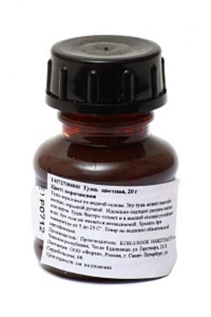 Тушь, чернила: Тушь  KOH-I-NOOR  20г. коричневая 141727 в Шедевр, художественный салон