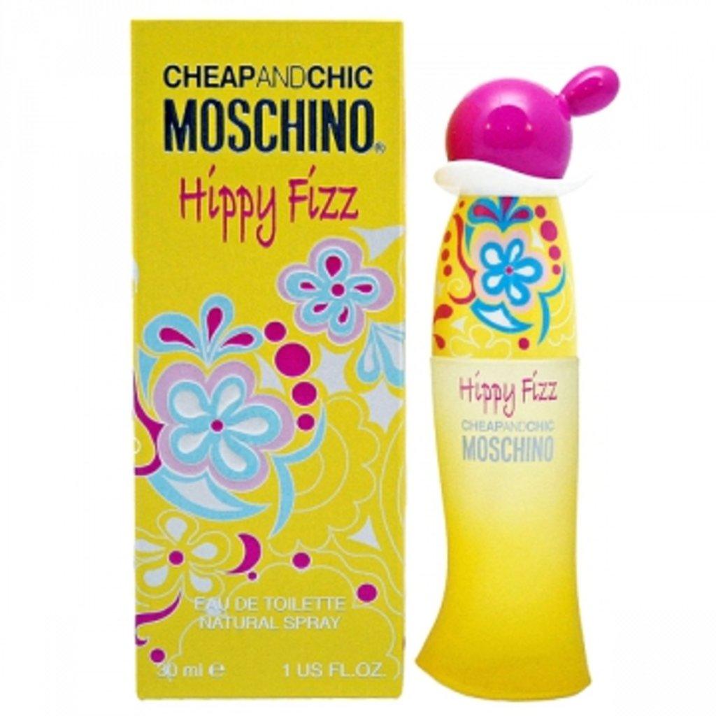 Женская туалетная вода Moschino: Туалетная вода Moschino Hippy Fizz edt ж 30 ml в Элит-парфюм