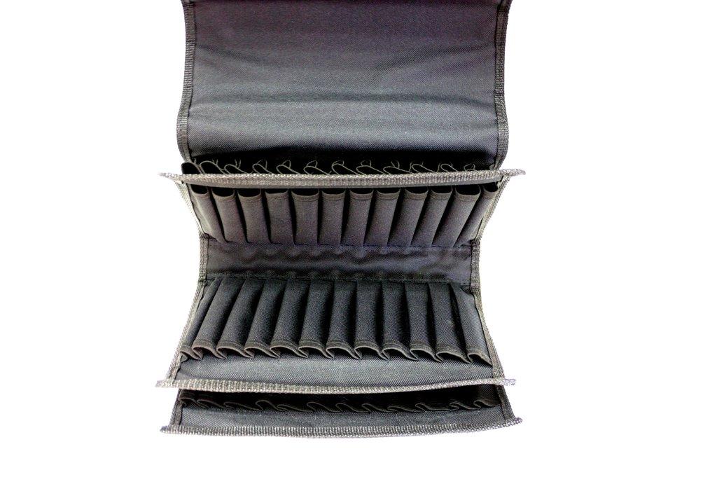 Инструменты и аксессуары для художников: Пенал 072/1 (Органайзер для маркеров)черный,нейлон, 63х27х9 в Шедевр, художественный салон